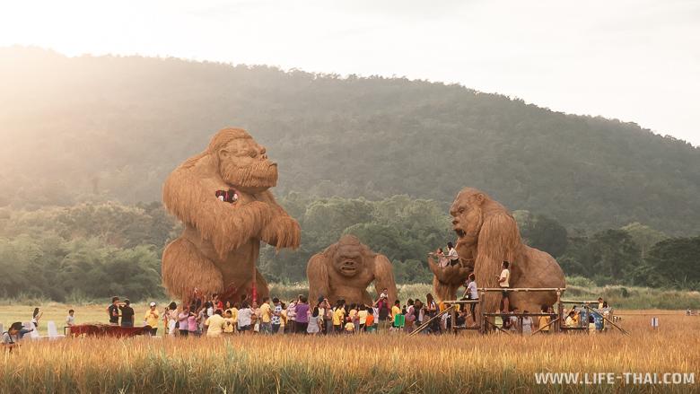 Статуи Кинг-Конга в Чиангмае
