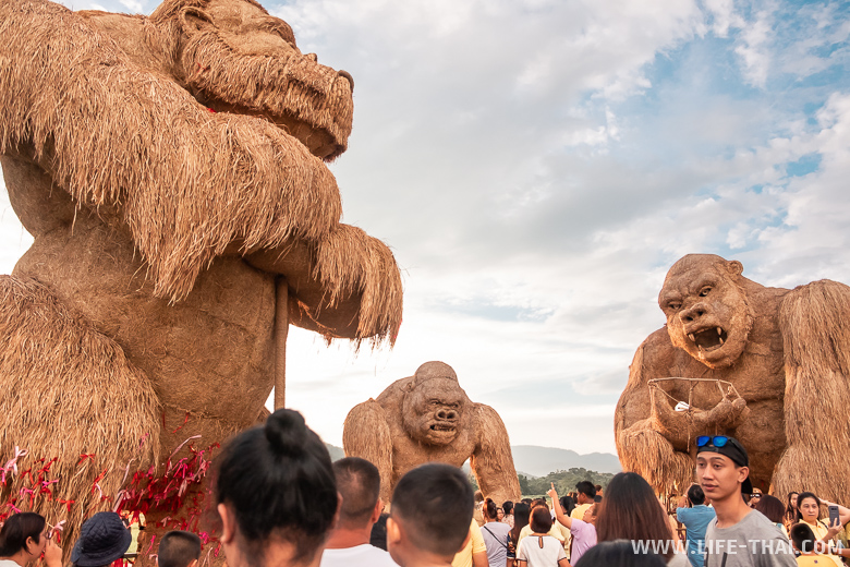 Огромный Кингконг в Чиангмае