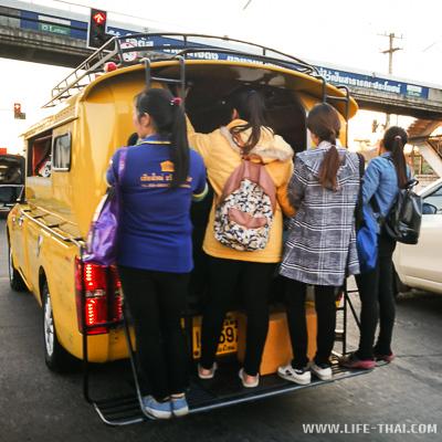 Общественный транспорт в Чиангмае
