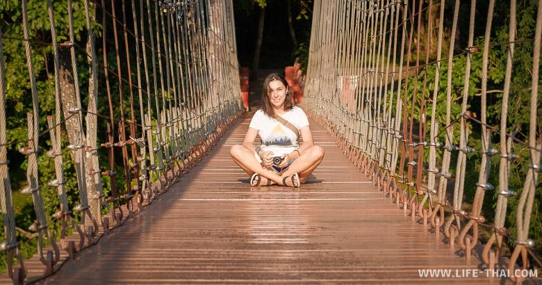 Достопримечательности Бурирама - вулкан и подвесной мост