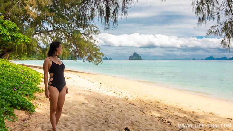 Экскурсия на остров Крадан с острова ко Мук в Таиланде