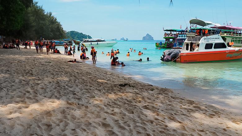 Отдых на ко Крадане в марте, Таиланд