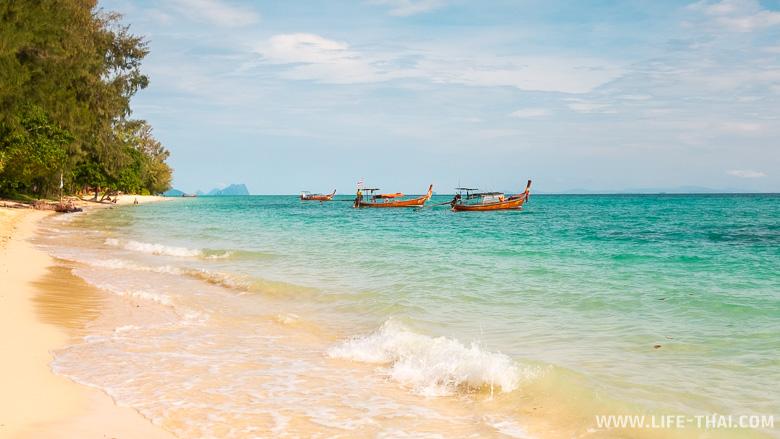 Экскурсия на остров ко Нгай с острова ко Мук в Таиланде