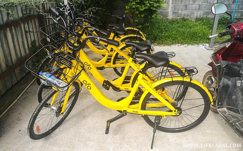 Бунгало на ко Муке с бесплатными велосипедами