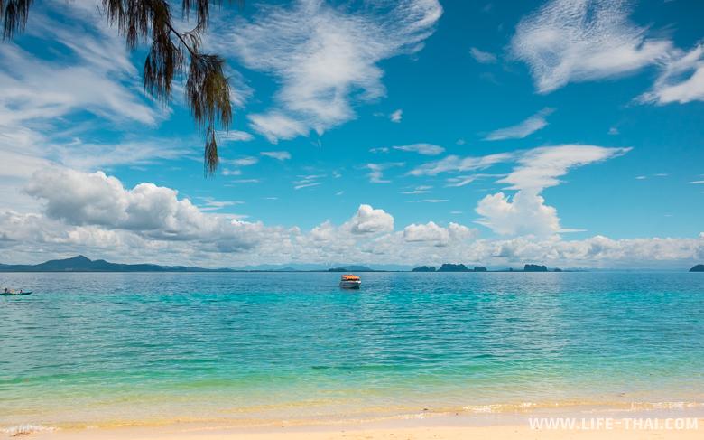 Пляжный отдых на ко Крадане