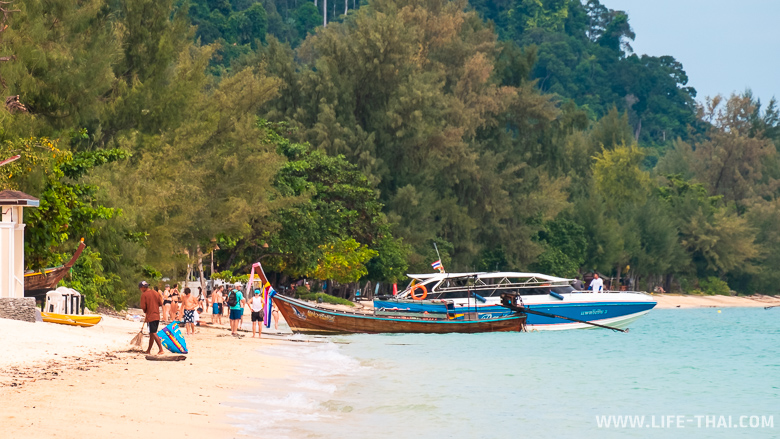 Пляж на ко Нгай