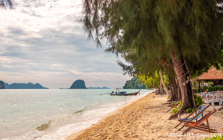 Пляжи острова ко Нгай в Транге