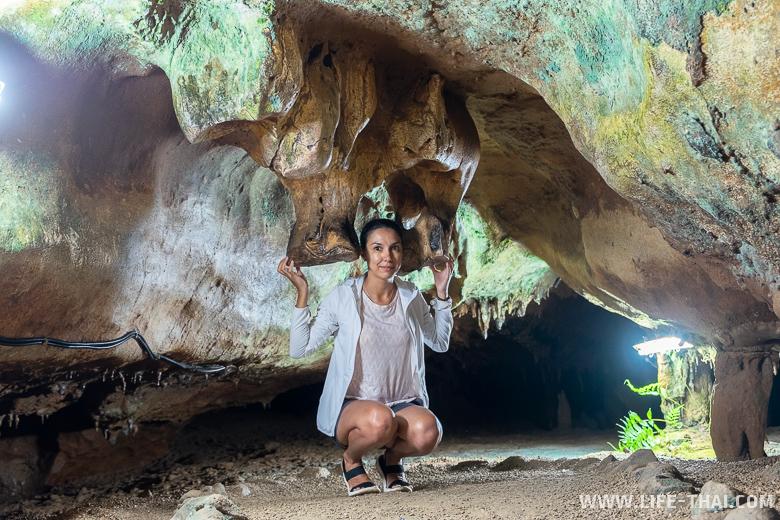Самая страшная пещера Таиланда - Tham Le Khao Kob