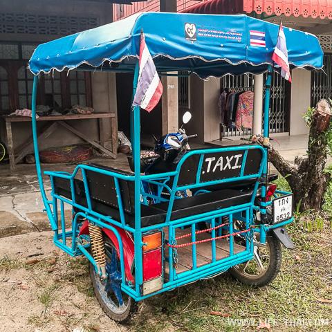 Транспорт на острове koh Mook в Таиланде