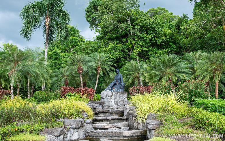 Парк Королевы-матери - одна из достопримечательностей Транга