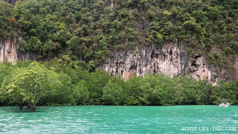 Лагуна омоложения на островах Хонг, Краби