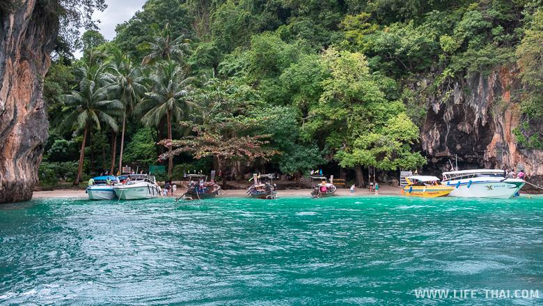 Посещение острова Lao Ladig во время экскурсии на острова Хонг