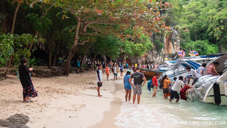 Берег острова Lao Ladig, Краби