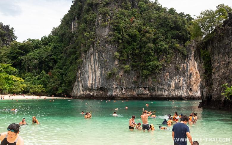 Пляж на острове Хонг, Краби