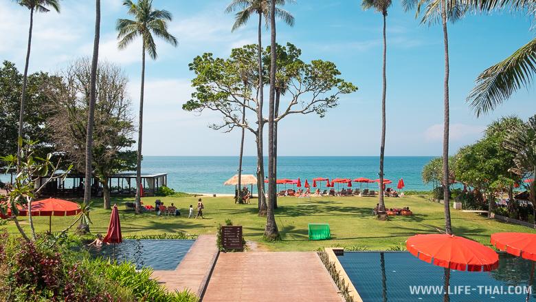 Отель Srilanta на пляже Клонг Нин