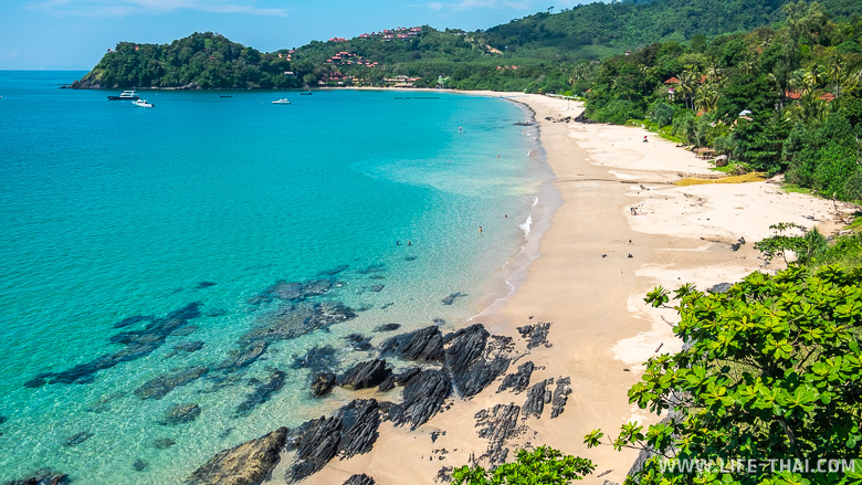 Пляжи на ко Ланте - главная изюминка острова