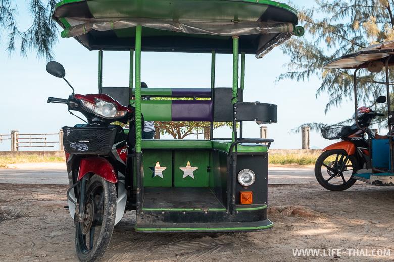 Отзыв об отдыхе на ко Ланте - транспорт на острове