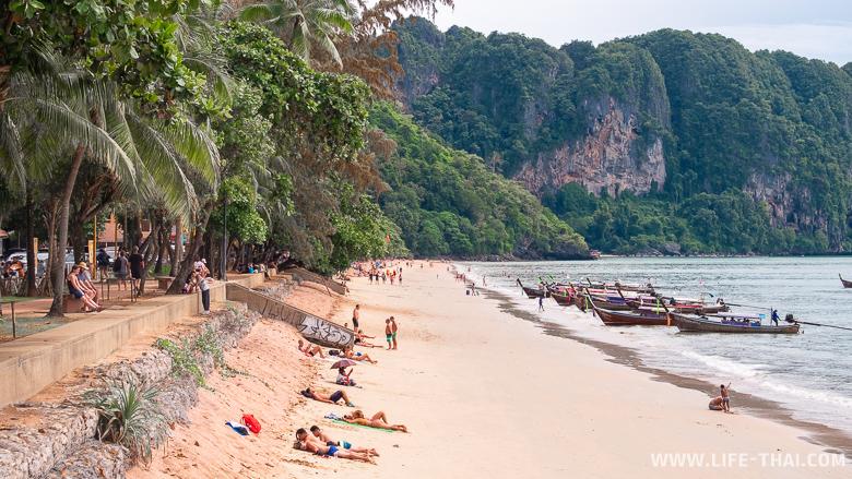 Пляж Ао Нанг бич Краби, Таиланд