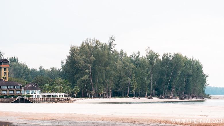 Коса на пляже Чанг Ланг