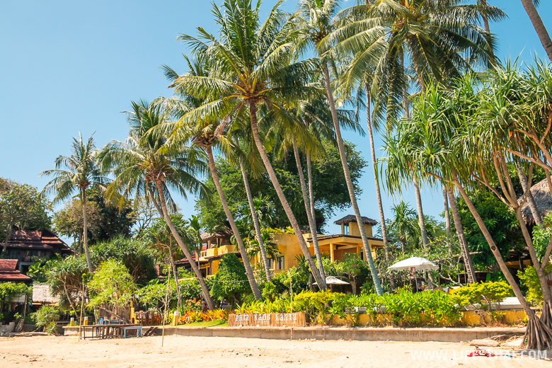 Отель на пляже Кантианг, остров ко Ланта