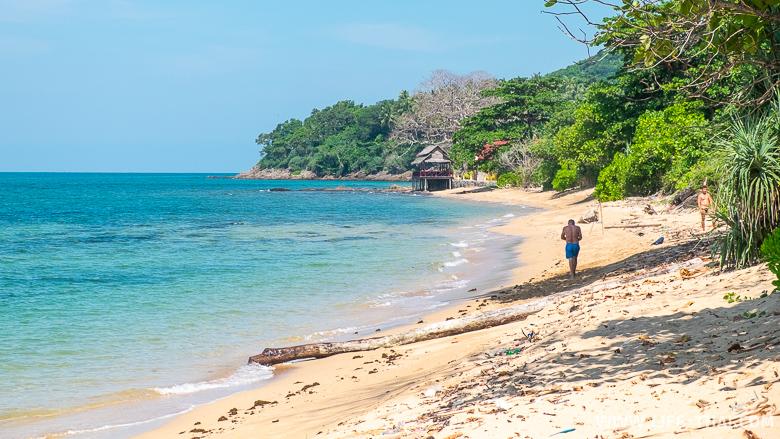 Самый грязный пляж ко Ланты - Клонг Хин