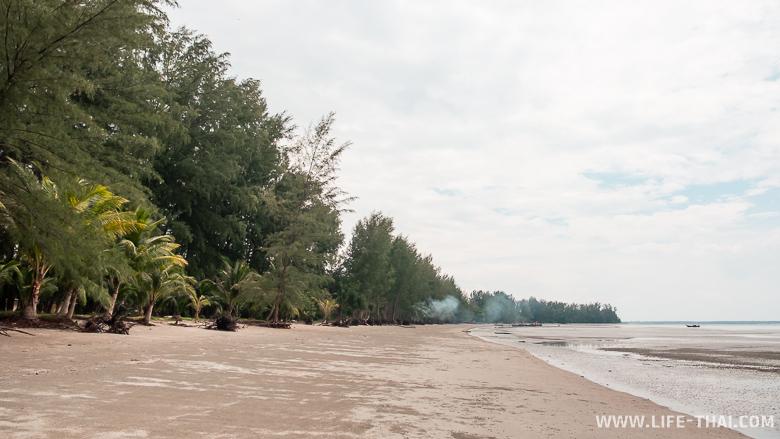 Пляж Мот Таной в Транге