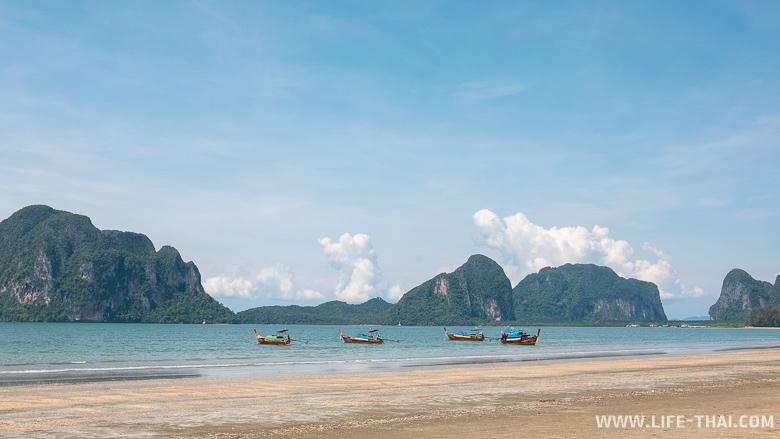 Лучший пляж Транга - пляж Pak Meng