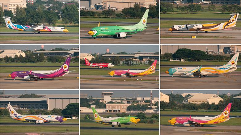 Самолёты тайской авиакомпании Nok Air