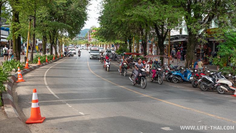 Проблема с парковкой в Ао Нанге