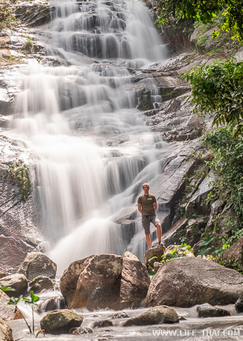 Водопад в Транге