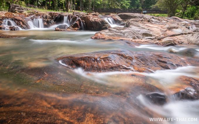 Водопады рядом с Трангом