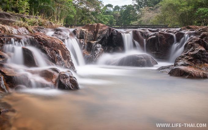 Что посмотреть рядом с Трангом: водопад Khao chong
