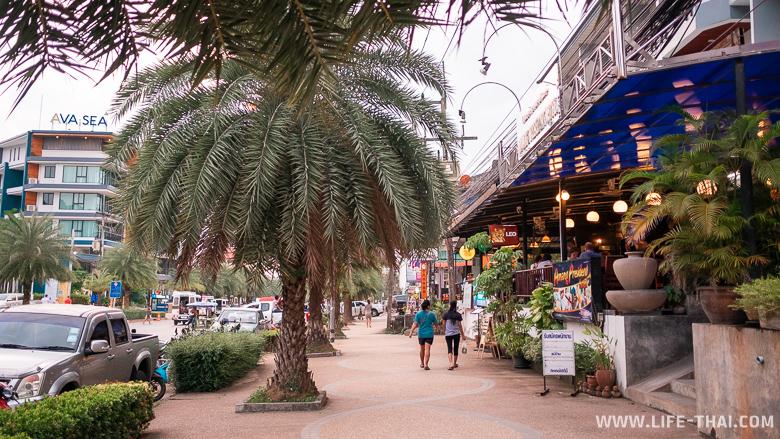Улица для прогулок в Ао Нанге
