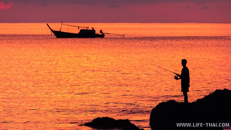 Закат на ко Ланте, Таиланд