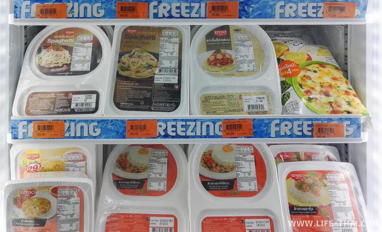 Цена на замороженную еду ко Липе