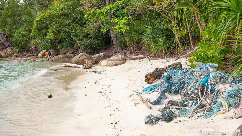 Дикий пляж на ко Липе
