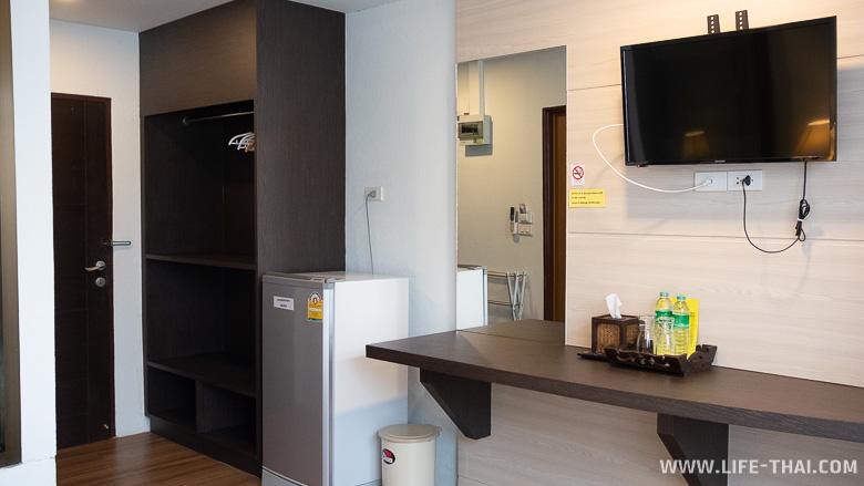 Интерьер номера в отеле A+ hotel ко Липе в Таиланде