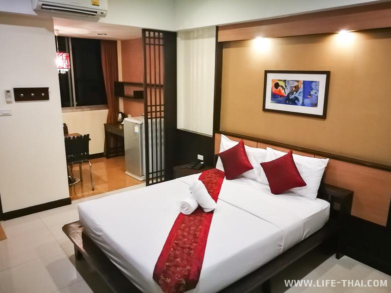 Номер в отеле в Чиангмае