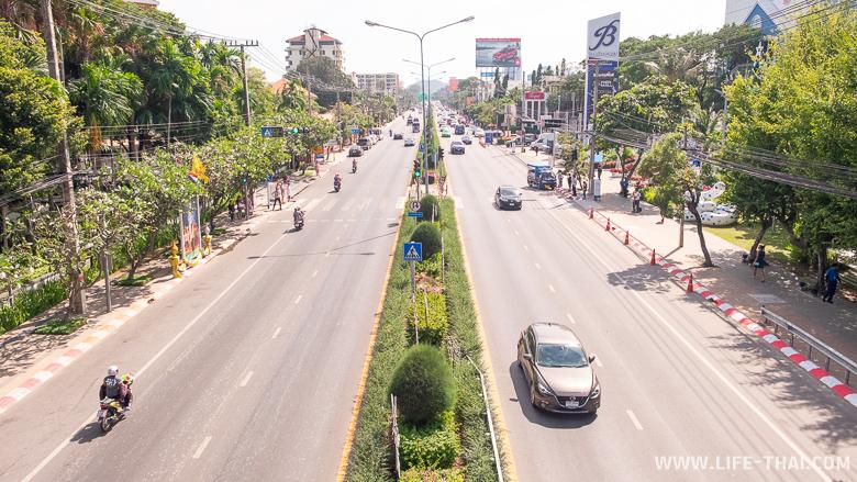 Дороги и движение в Хуа Хине