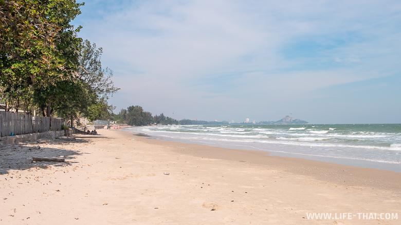 Пляж Као Тао для отдыха в Хуа Хине