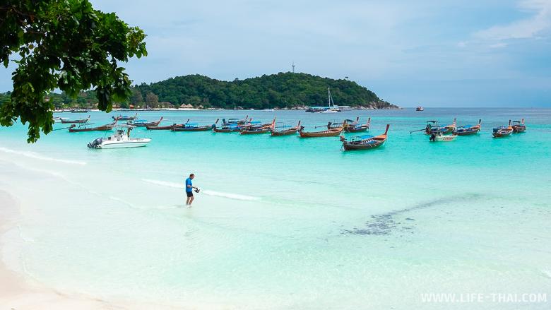 Самый красивый пляж ко Липе - Паттайя бич