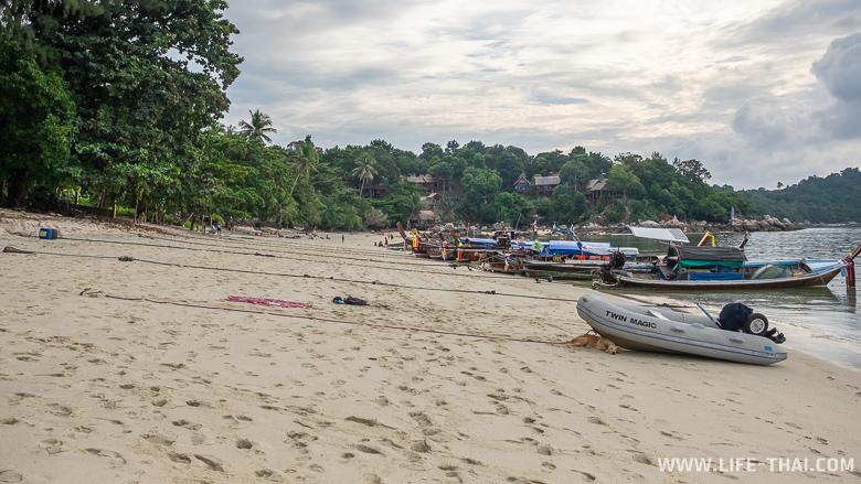 Закатный пляж на ко Липе