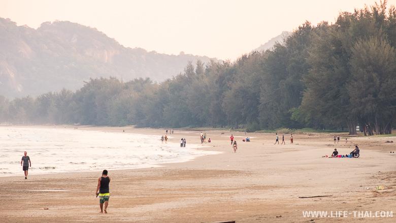 Пляж Суан Сон в Хуа Хине