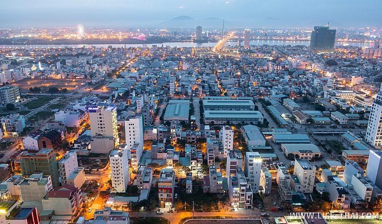 Так выглядит город Дананг во Вьетнаме