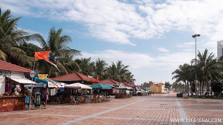 Дананг, фото набережной