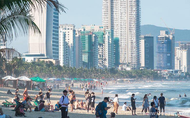 Пляж в Дананге, отзыв об отдыхе