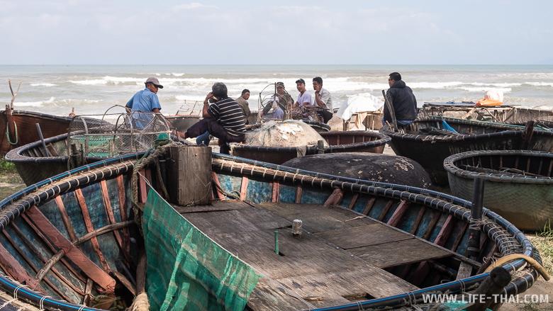 Рыбаки в Дананге