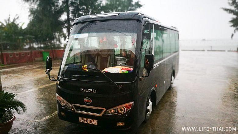 Автобус из Хюэ в Дананг
