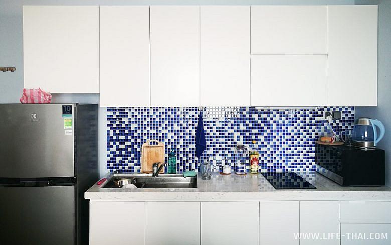 Квартира с кухней, которую мы снимали в Дананге
