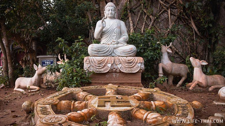 Будда в Marble Mountrains, Danang